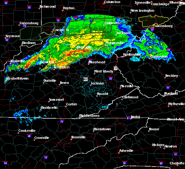 Radar Image for Severe Thunderstorms near Ewing, KY at 3/1/2017 4:24 AM EST