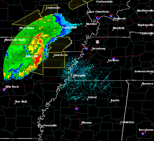 Radar Image for Severe Thunderstorms near Delaplaine, AR at 3/1/2017 3:31 AM CST