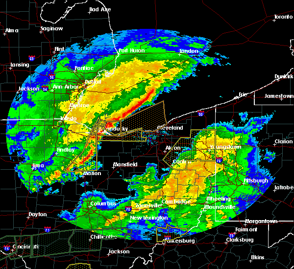 Radar Image for Severe Thunderstorms near Attica, OH at 3/1/2017 4:39 AM EST