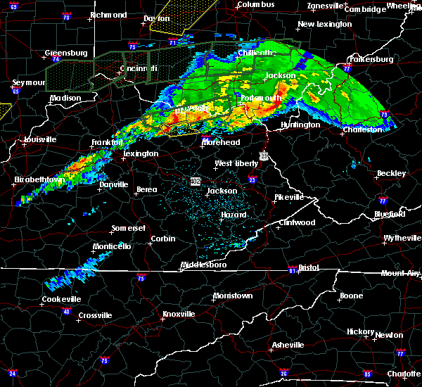 Radar Image for Severe Thunderstorms near Ewing, KY at 3/1/2017 5:35 AM EST