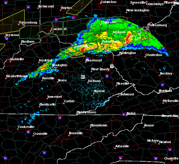 Radar Image for Severe Thunderstorms near Ewing, KY at 3/1/2017 5:47 AM EST
