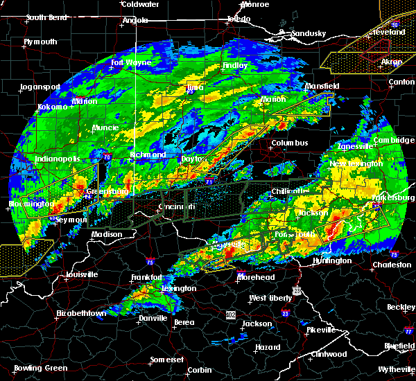 Radar Image for Severe Thunderstorms near Springfield, OH at 3/1/2017 5:48 AM EST