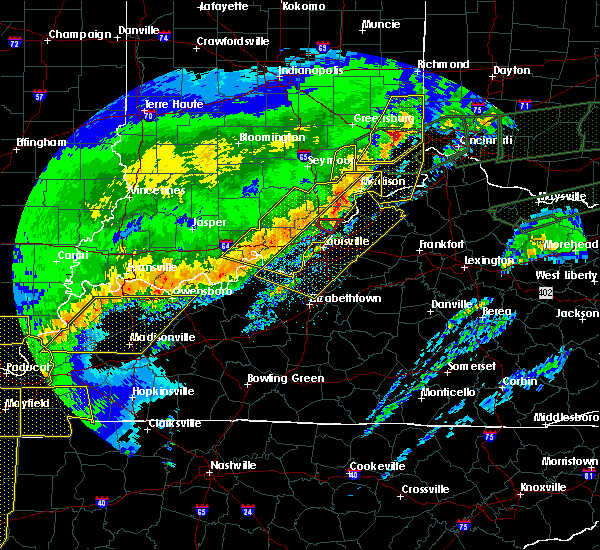 Radar Image for Severe Thunderstorms near Utica, KY at 3/1/2017 6:26 AM EST