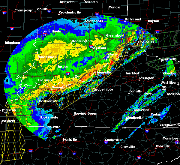 Radar Image for Severe Thunderstorms near Ghent, KY at 3/1/2017 6:39 AM EST