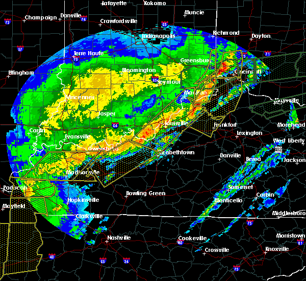 Radar Image for Severe Thunderstorms near Cincinnati, OH at 3/1/2017 6:46 AM EST