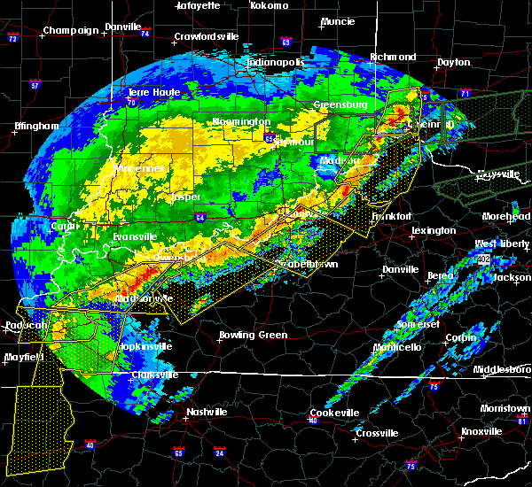 Radar Image for Severe Thunderstorms near Ekron, KY at 3/1/2017 6:49 AM EST