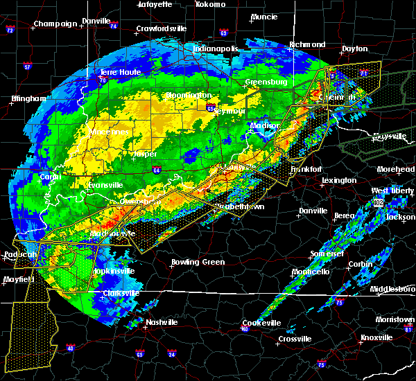 Radar Image for Severe Thunderstorms near Cincinnati, OH at 3/1/2017 6:54 AM EST
