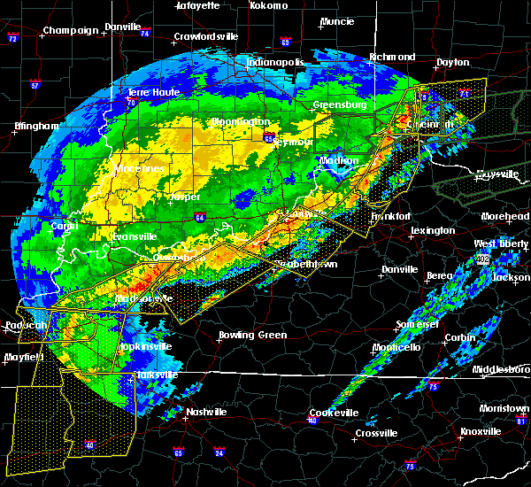 Radar Image for Severe Thunderstorms near Cincinnati, OH at 3/1/2017 6:58 AM EST