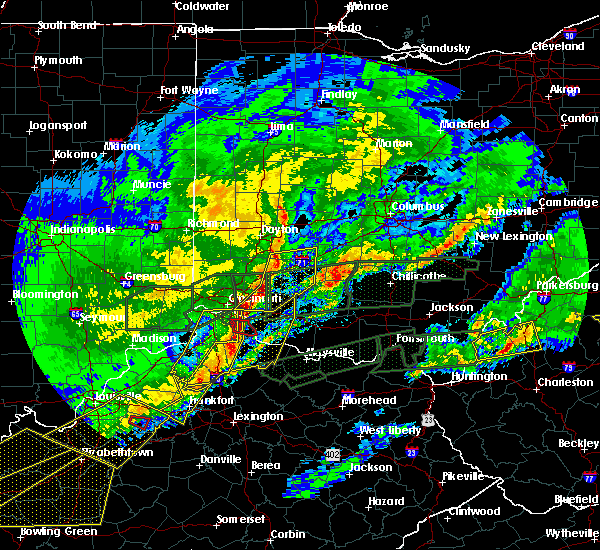 Radar Image for Severe Thunderstorms near Cincinnati, OH at 3/1/2017 7:14 AM EST