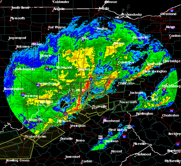 Radar Image for Severe Thunderstorms near Martinsville, OH at 3/1/2017 7:26 AM EST