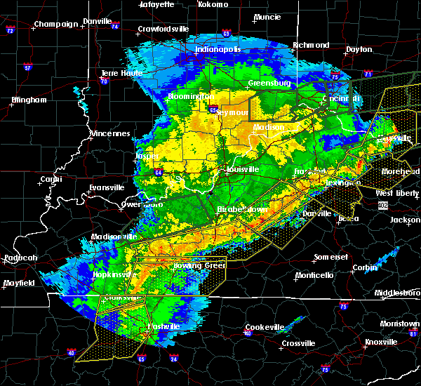 Radar Image for Severe Thunderstorms near Bradfordsville, KY at 3/1/2017 7:55 AM EST