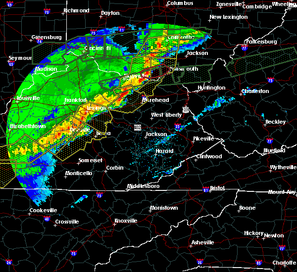 Radar Image for Severe Thunderstorms near Paris, KY at 3/1/2017 8:10 AM EST