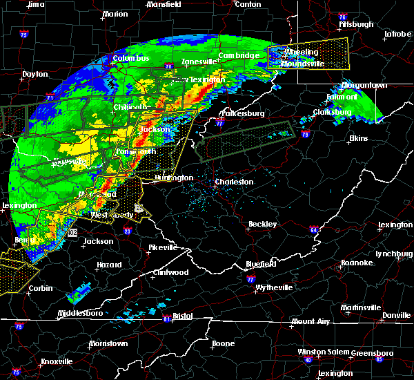 Radar Image for Severe Thunderstorms near Albany, OH at 3/1/2017 8:50 AM EST