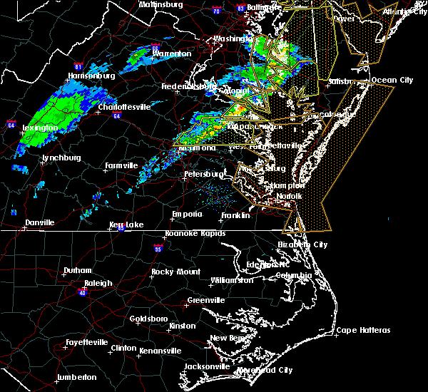Radar Image for Severe Thunderstorms near Heathsville, VA at 3/1/2017 2:37 PM EST