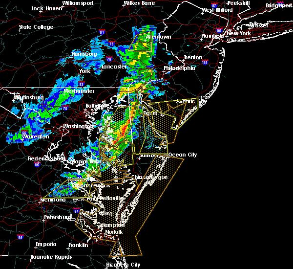 Radar Image for Severe Thunderstorms near Dover, DE at 3/1/2017 2:50 PM EST