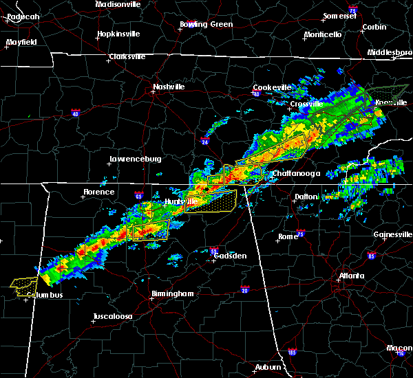 Radar Image for Severe Thunderstorms near Hartselle, AL at 3/1/2017 1:53 PM CST