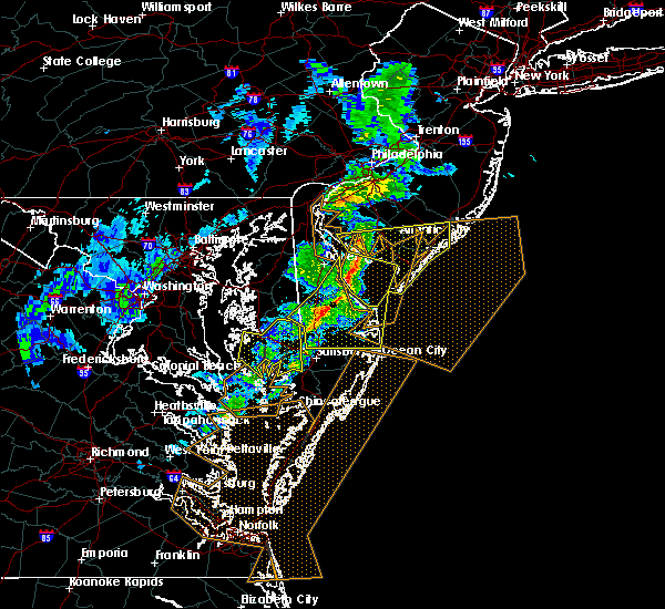 Radar Image for Severe Thunderstorms near Dover, DE at 3/1/2017 3:12 PM EST