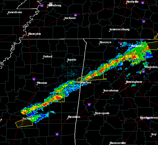 Radar Image for Severe Thunderstorms near Noxapater, MS at 3/1/2017 2:14 PM CST