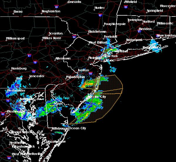 Radar Image for Severe Thunderstorms near Silver Ridge, NJ at 3/1/2017 4:04 PM EST