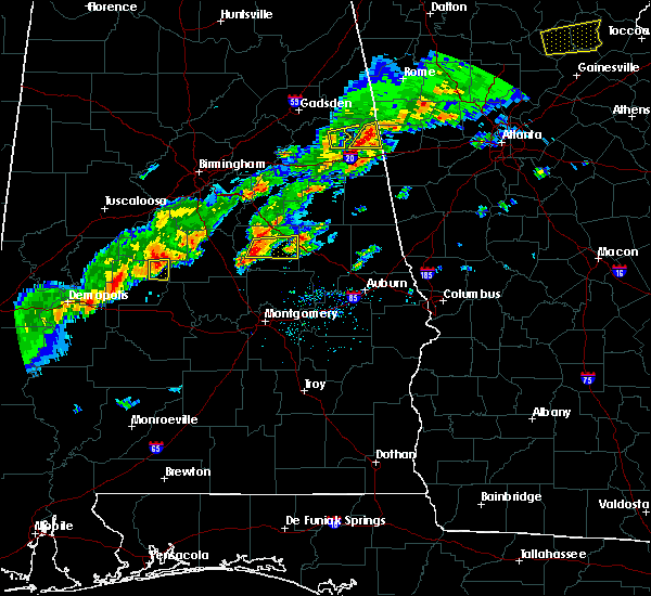 Radar Image for Severe Thunderstorms near Hissop, AL at 3/1/2017 5:16 PM CST