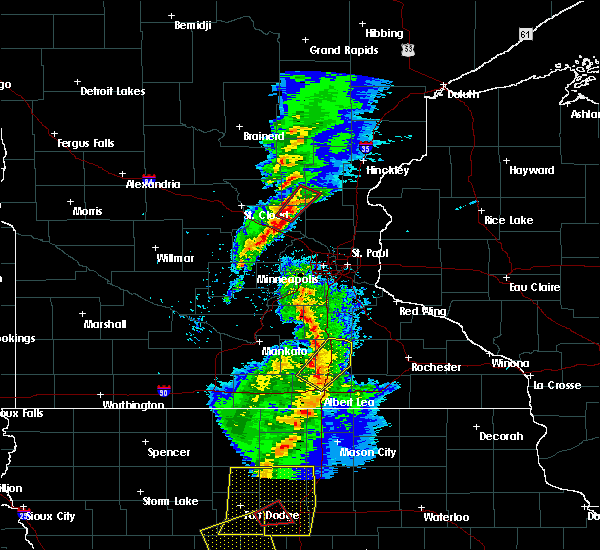 Radar Image for Severe Thunderstorms near Zimmerman, MN at 3/6/2017 5:49 PM CST