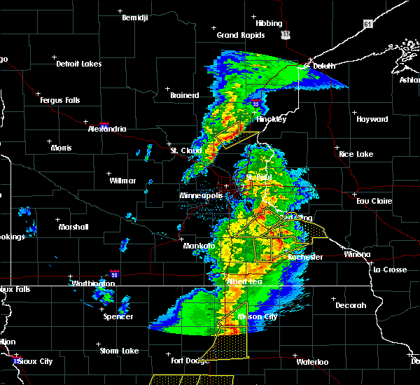 Radar Image for Severe Thunderstorms near Frontenac, MN at 3/6/2017 6:36 PM CST