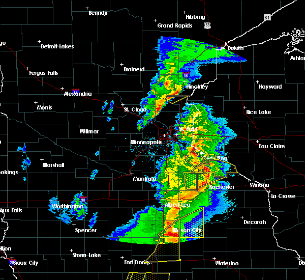 Radar Image for Severe Thunderstorms near Rush City, MN at 3/6/2017 6:38 PM CST