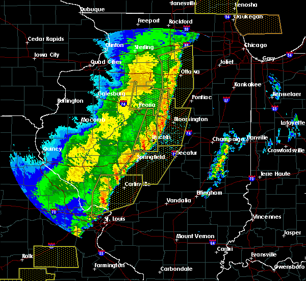 Radar Image for Severe Thunderstorms near Taylorville, IL at 3/7/2017 12:34 AM CST