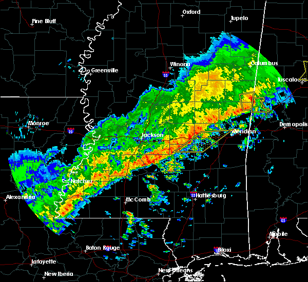 Radar Image for Severe Thunderstorms near Montrose, MS at 3/7/2017 2:25 PM CST