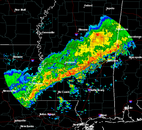 Radar Image for Severe Thunderstorms near Montrose, MS at 3/7/2017 2:31 PM CST
