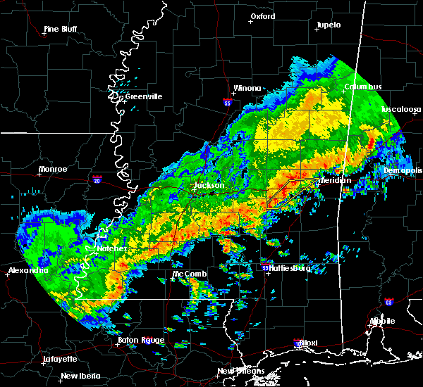 Radar Image for Severe Thunderstorms near Montrose, MS at 3/7/2017 2:52 PM CST