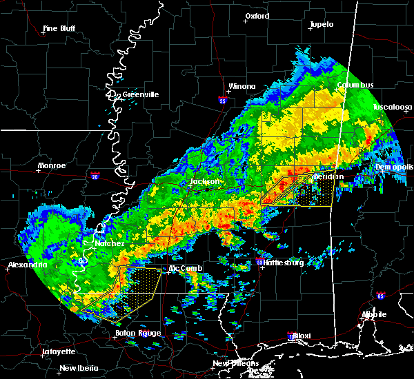 Radar Image for Severe Thunderstorms near Lauderdale, MS at 3/7/2017 2:58 PM CST