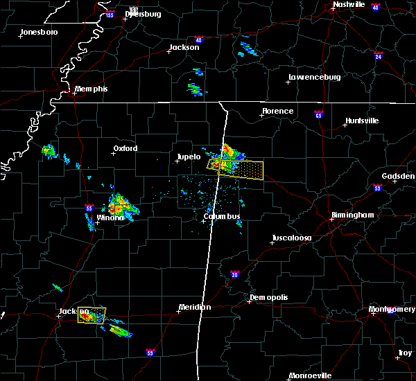 Radar Image for Severe Thunderstorms near Brilliant, AL at 3/9/2017 5:57 PM CST