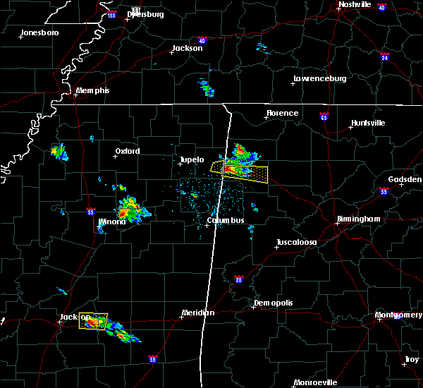 Radar Image for Severe Thunderstorms near Brilliant, AL at 3/9/2017 6:09 PM CST