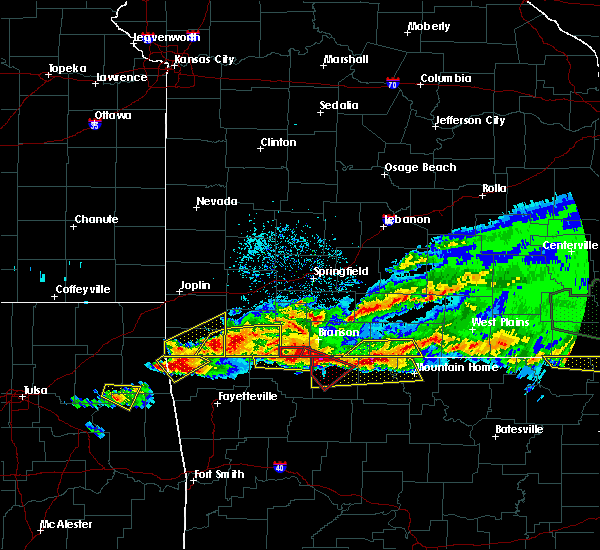 Interactive Hail Maps Hail Map For Shell Knob Mo