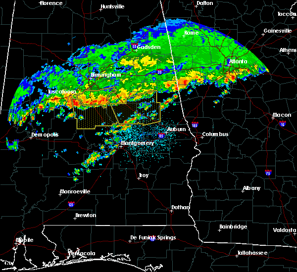 Radar Image for Severe Thunderstorms near Hissop, AL at 3/10/2017 3:27 AM CST