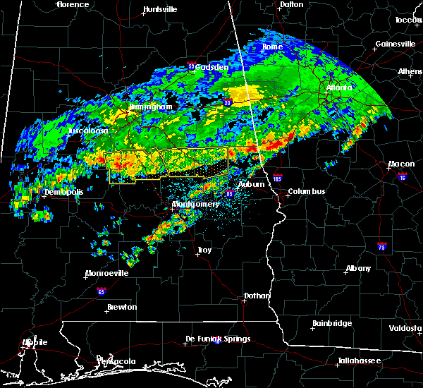 Radar Image for Severe Thunderstorms near Hissop, AL at 3/10/2017 3:50 AM CST