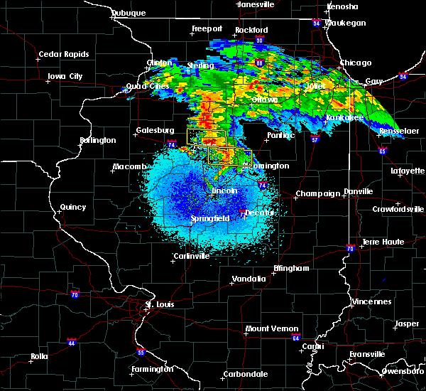 Radar Image for Severe Thunderstorms near Metamora, IL at 3/20/2017 3:30 AM CDT