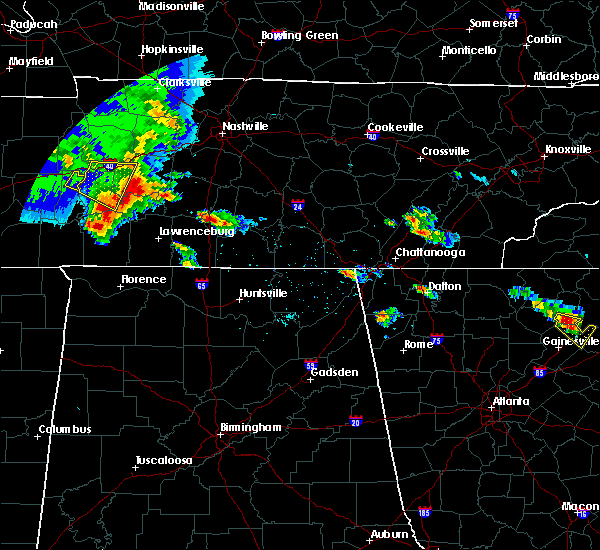 Radar Image for Severe Thunderstorms near Hopewell, TN at 3/21/2017 4:33 PM EDT