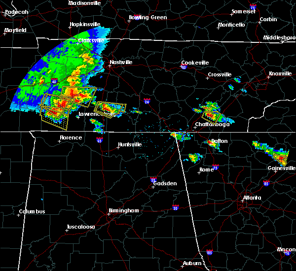 Radar Image for Severe Thunderstorms near Hopewell, TN at 3/21/2017 4:46 PM EDT
