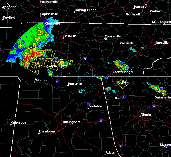 Radar Image for Severe Thunderstorms near Minor Hill, TN at 3/21/2017 4:01 PM CDT