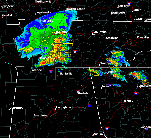 Radar Image for Severe Thunderstorms near Wildwood Lake, TN at 3/21/2017 5:38 PM EDT