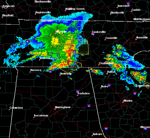Radar Image for Severe Thunderstorms near Hytop, AL at 3/21/2017 5:09 PM CDT