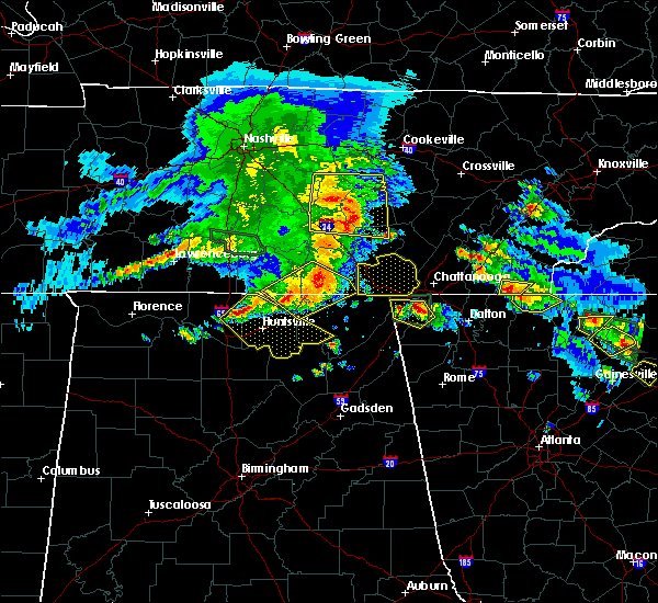 Radar Image for Severe Thunderstorms near Whitwell, TN at 3/21/2017 5:24 PM CDT