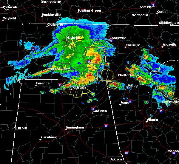 Radar Image for Severe Thunderstorms near Hytop, AL at 3/21/2017 5:29 PM CDT