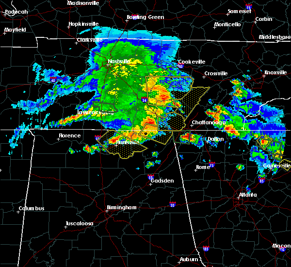 Radar Image for Severe Thunderstorms near Morganton, GA at 3/21/2017 6:37 PM EDT