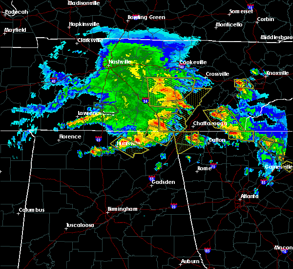 Radar Image for Severe Thunderstorms near Hytop, AL at 3/21/2017 5:46 PM CDT