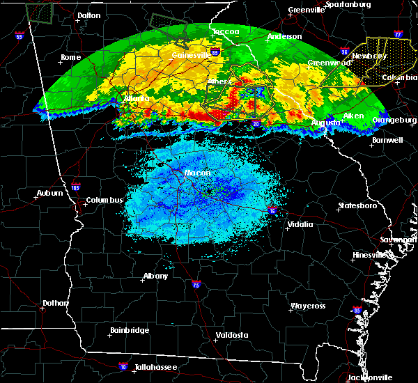Radar Image for Severe Thunderstorms near Mitchell, GA at 3/21/2017 9:48 PM EDT
