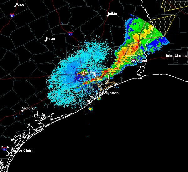 Radar Image for Severe Thunderstorms near Pasadena, TX at 3/25/2017 12:39 AM CDT