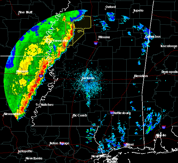 Radar Image for Severe Thunderstorms near Inverness, MS at 3/25/2017 3:29 AM CDT